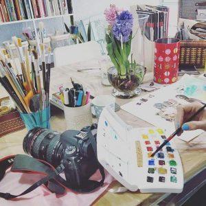 עבודה בסטודיו